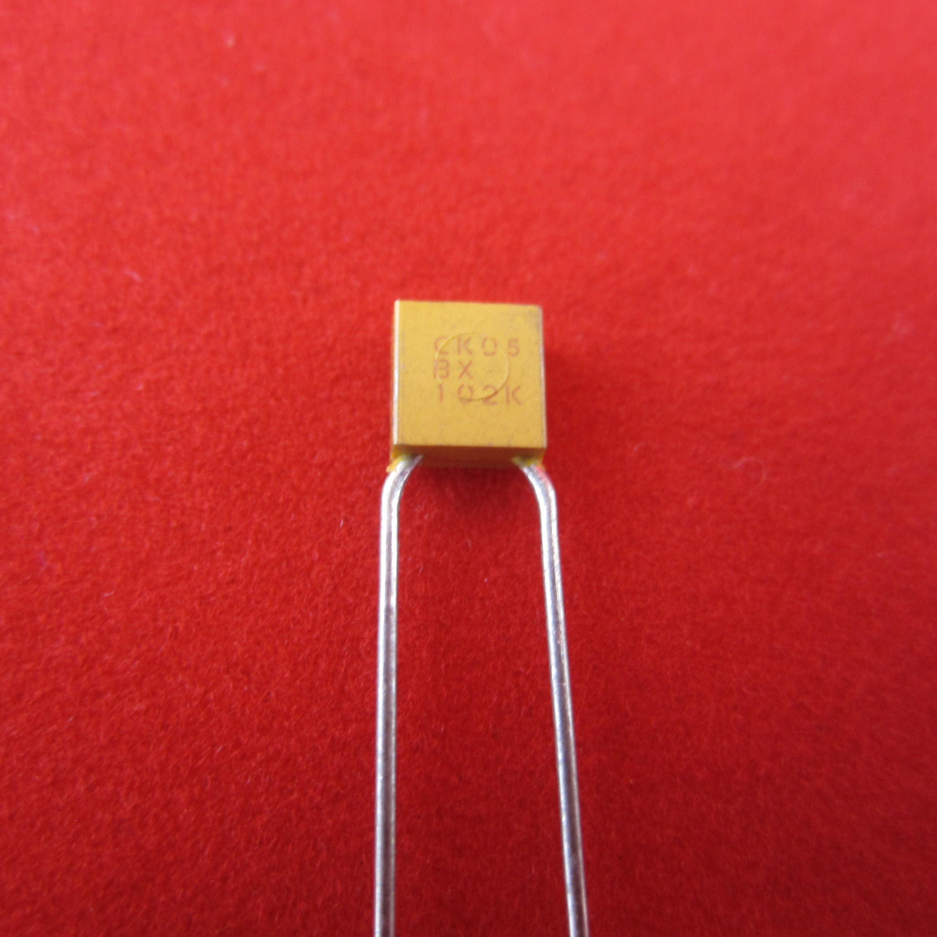 Poly avx capacitors