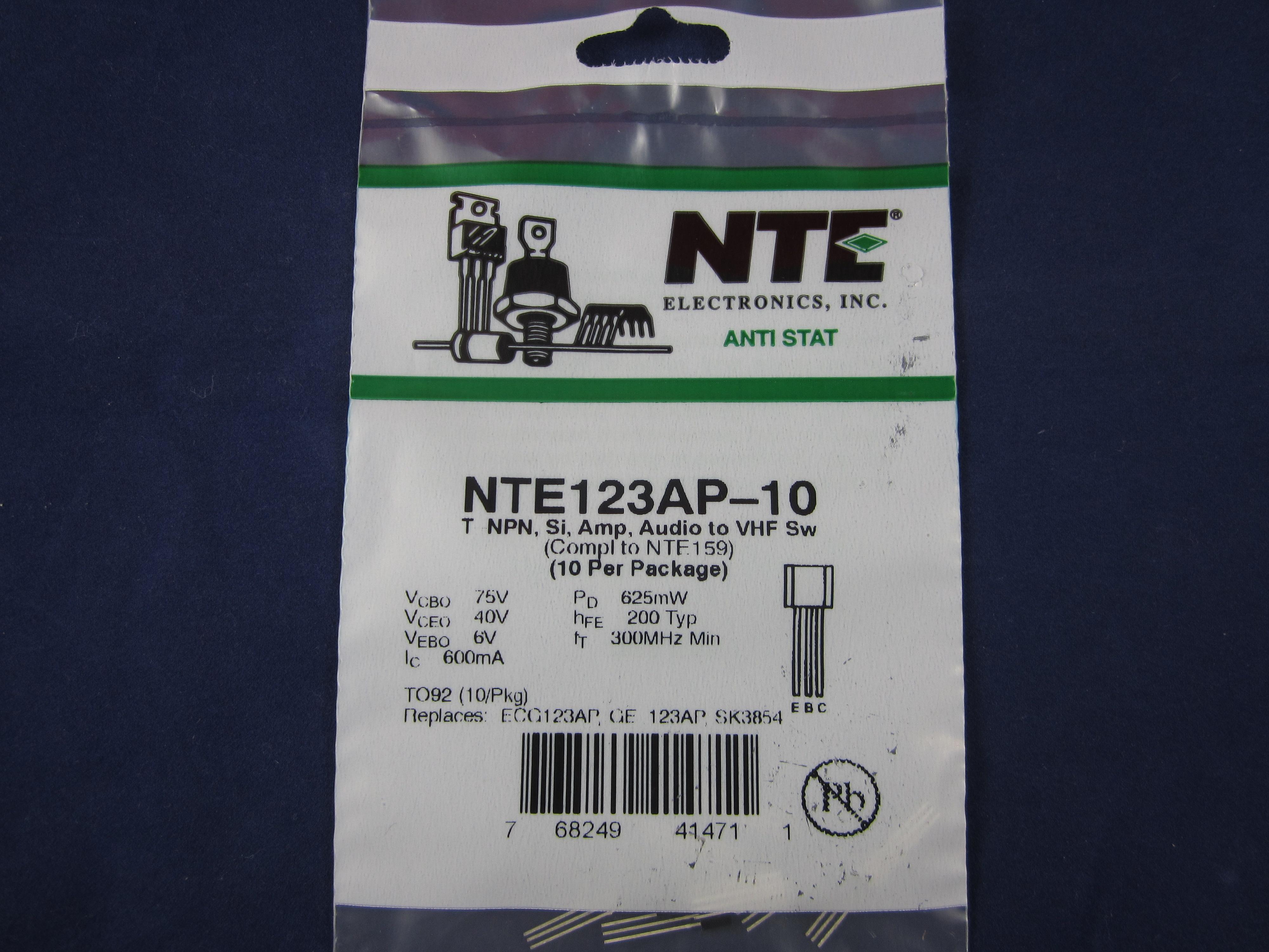 Zetex ZTX550 45V PNP General Purpose Transistor